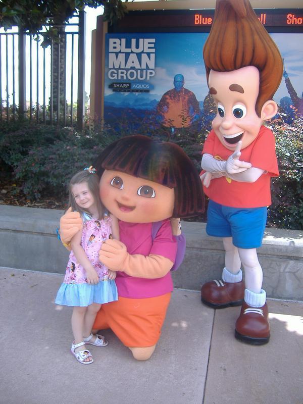 w/ Dora :)