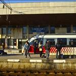 Train in Levski Station