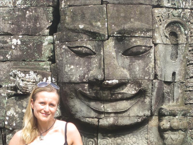 Me trying to smile like Bayon