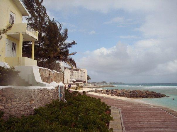 Past the South Ocean are a couple of private homes -