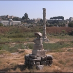 Temple of Artemis 550 BC. ( or whats left of it ) aug09