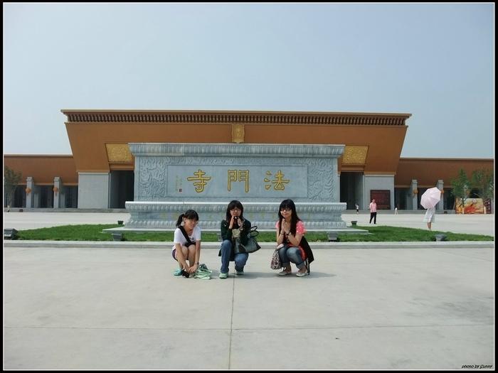 這是一座金碧輝煌的寺廟
