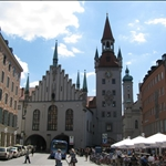 .. next to the old Rathaus.