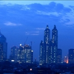 Jakarta at Night by Stefanie