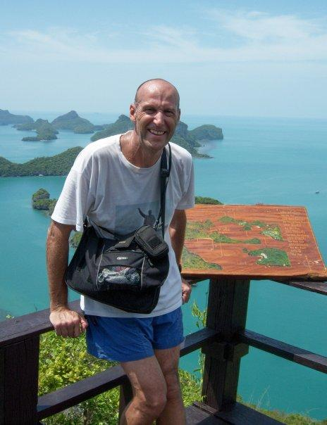 KO WUA TALAP, ANG THONG NATIONAL MARINE PARK - GETTING TO THE TOP WASN'T SO IDYLLIC, IT WAS VERY HOT AND SWEATY