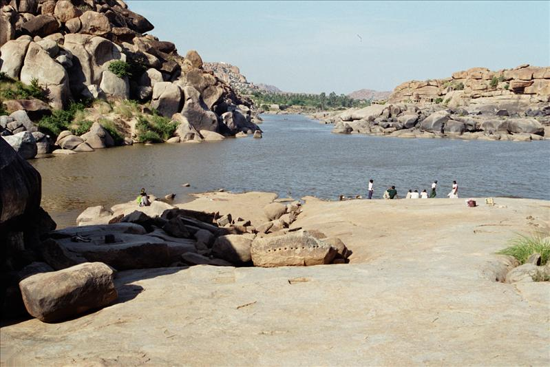 the Tungabhadra river