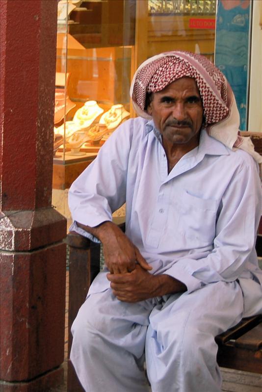 Local Man in Abu Dhabi