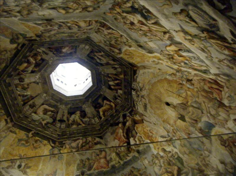the beautiful ceiling of the duomo