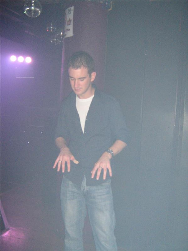 Neil in Mars Bar