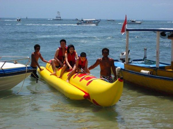 Banana Boat that is.