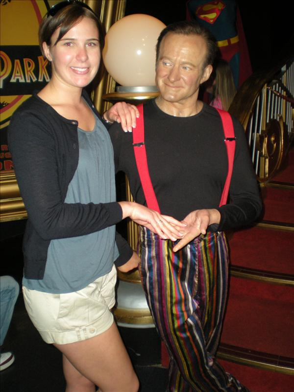 Robin Williams, Madame Tussaude's Wax Museum - 20th May