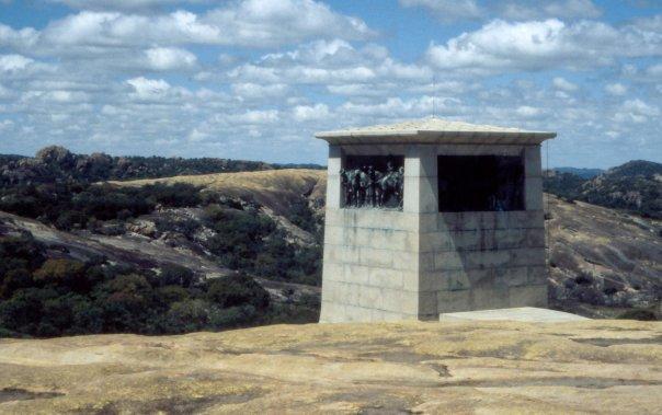 MATOBO NATIONAL PARK, VIEW OF THE WORLD, ZIMBABWE - APR