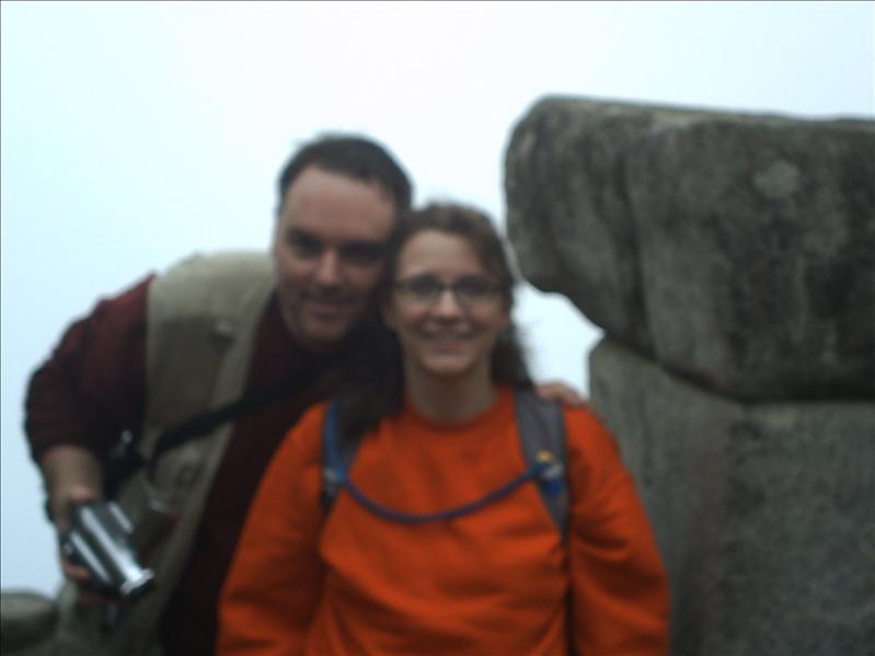 Me and wife at Machu Picchu in Peru