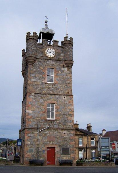 DUFFTOWN CLOCK TOWER, OCT 2007