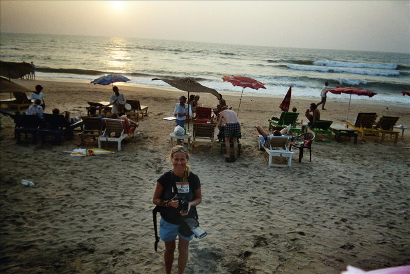 wenche, anjuna beach
