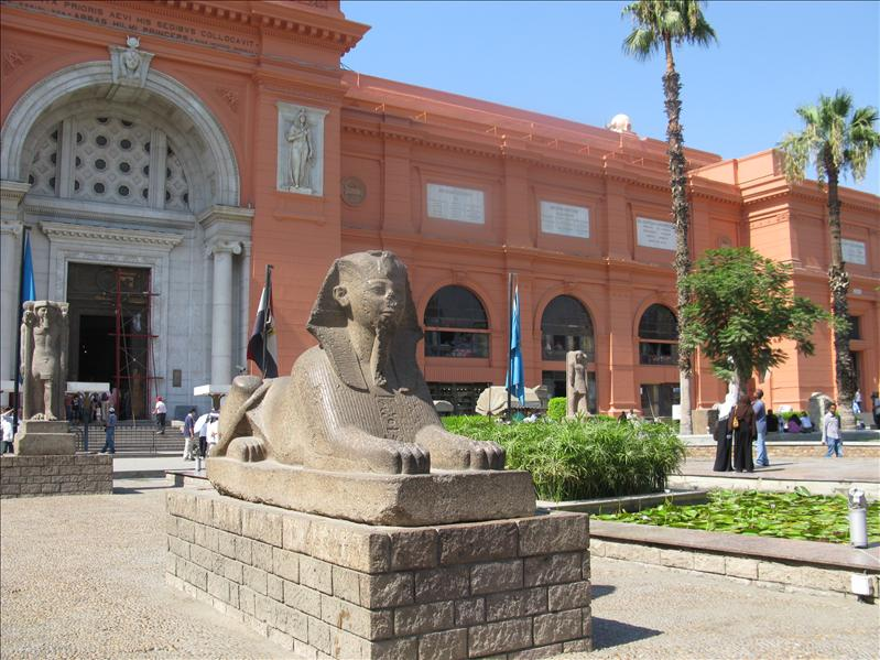 archeologisch museum Cairo