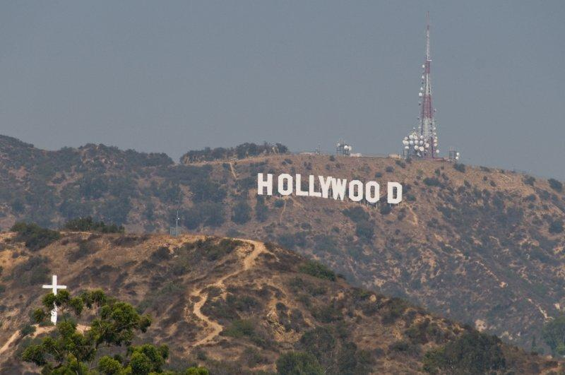 Famous Hollywood  Sign Of Los Angeles