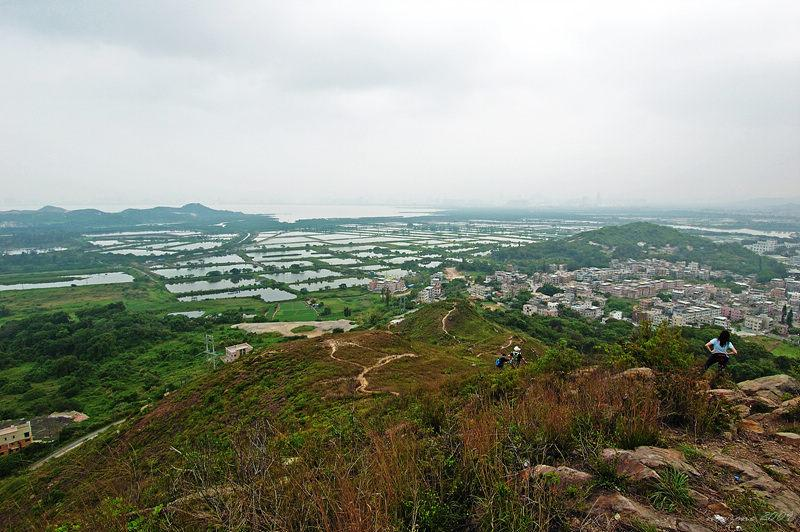 Fish Ponds and Shing Uk Tsuen 魚塘及盛屋村