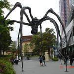 west walk玄關的巨型蜘蛛。