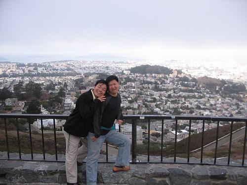 Brokeback mountain Part II, SF aerial view