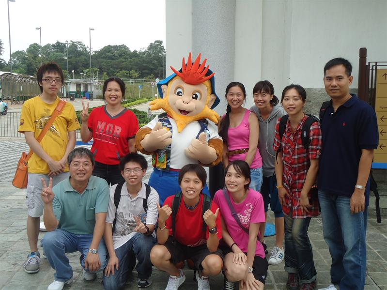 Gathering with Saint Monkey