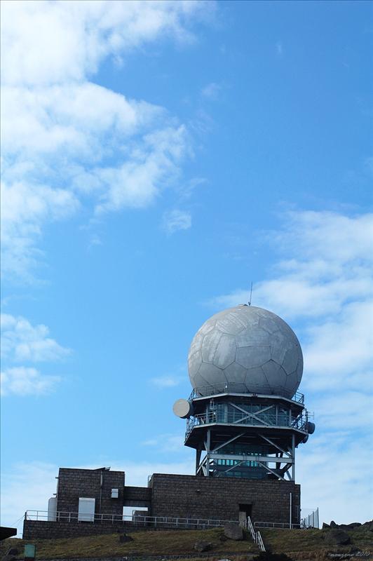 大帽山山頂氣象站