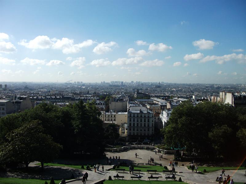 The view from Sacre Coeur.