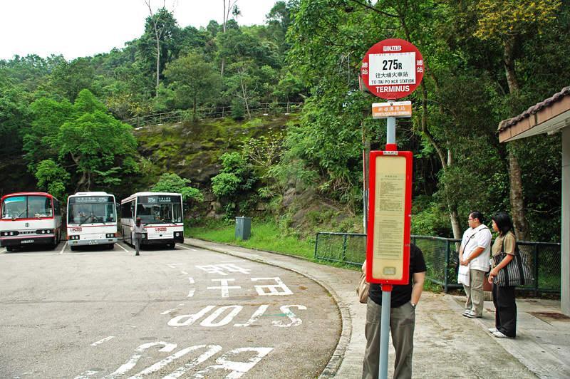 乘搭275R到新娘潭總站下車