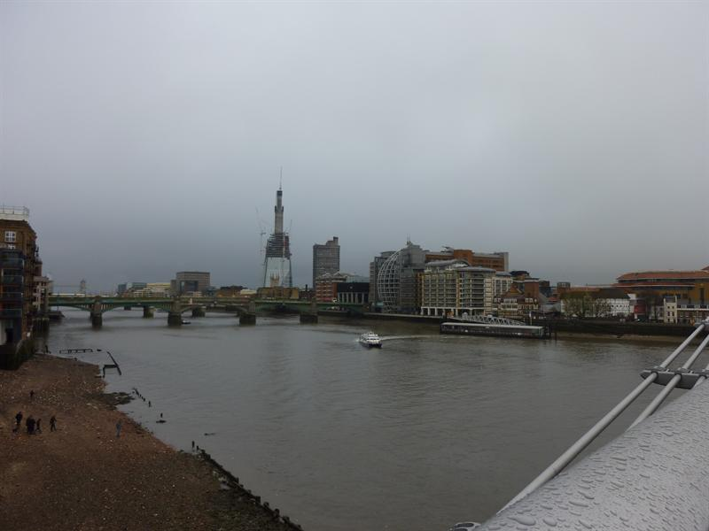 View from the Tate Modern Bridge (11.14)