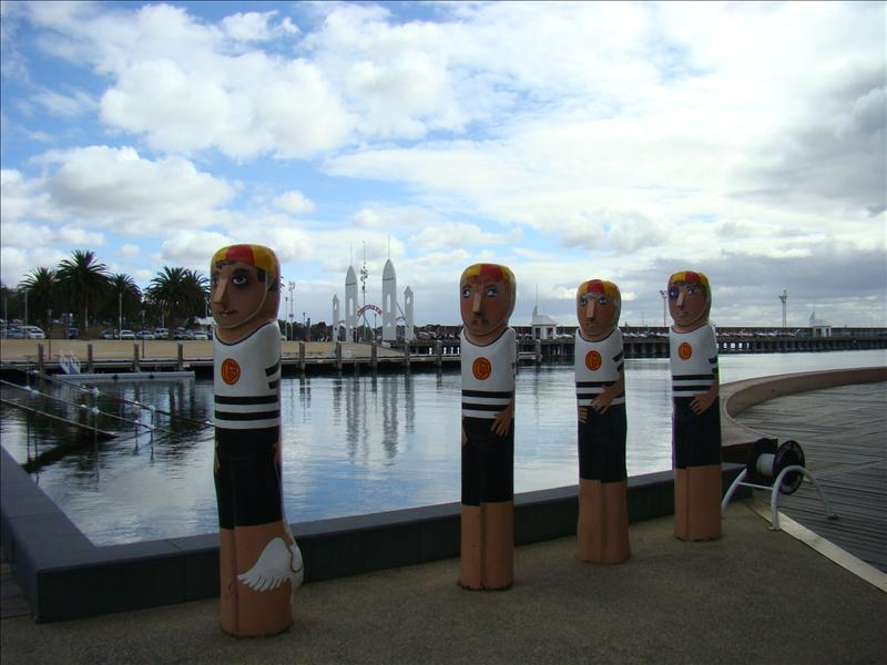 Bollards @ Geelong