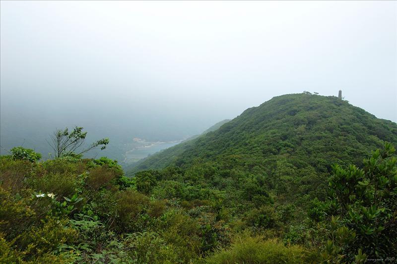 前望石碑山(164米) Obelisk Hill