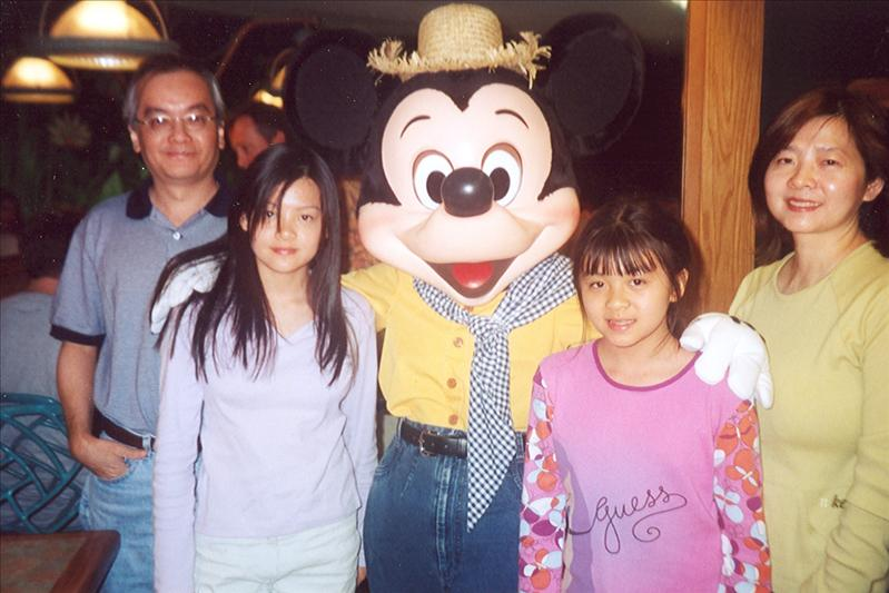 We couldn't make Florida for 2 years, but loyally returned in 2002. Mickey missed us dearly.