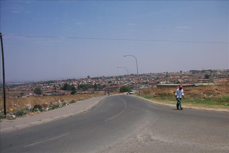 on the top of soweto / en haut de soweto