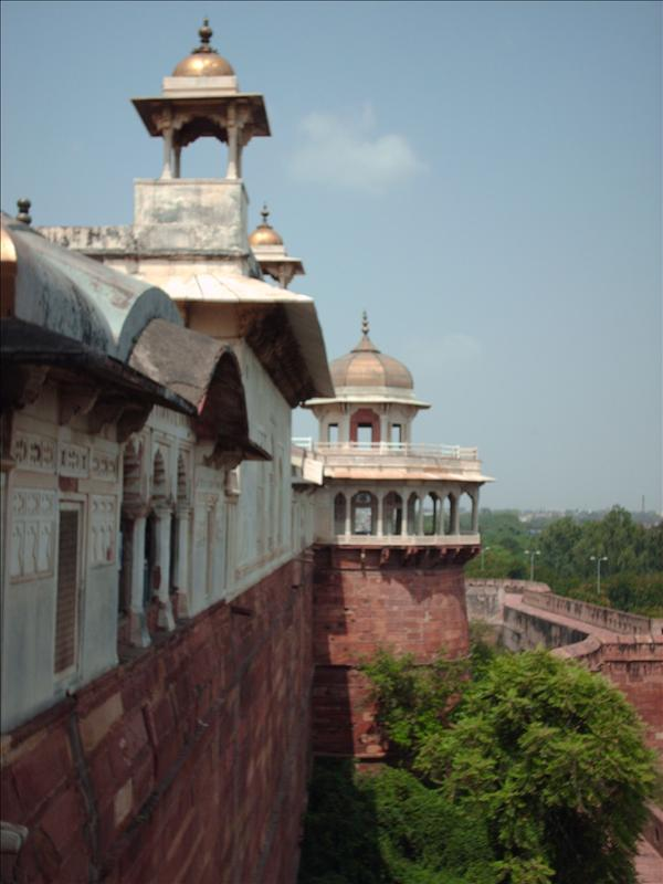 Exterior of Agra fort