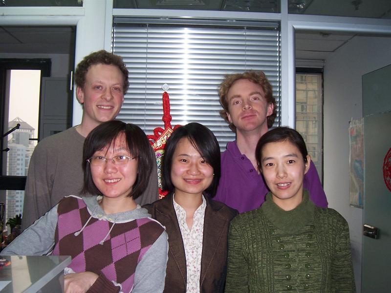 Nat, me, Cici, Li Na and Lucy