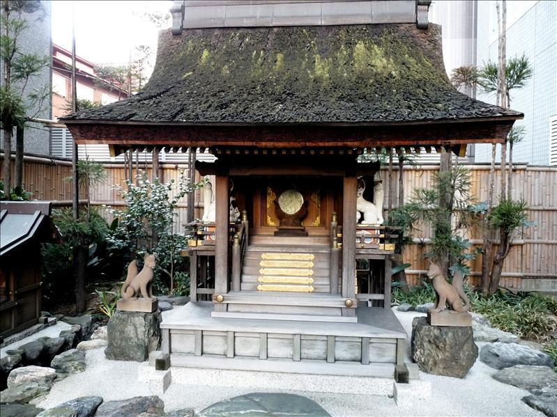 堀川通。稻荷神社?