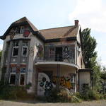 Urbex - Abandoned village Doel, Belgium