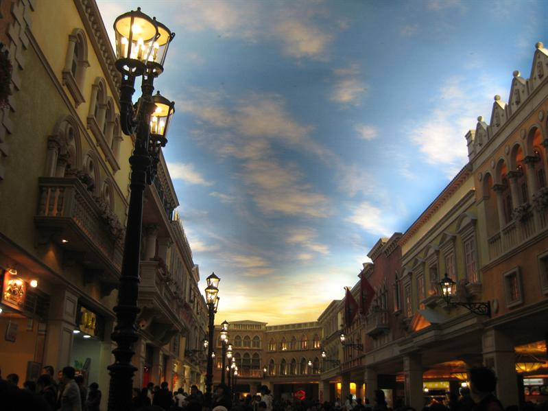 Venetian- one of the biggest Casino in Macau