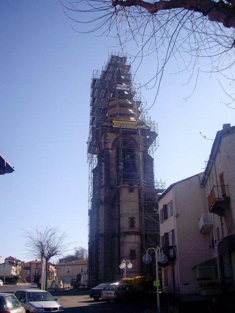 正在維修的教堂
