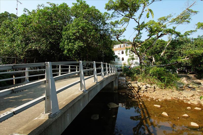 呢個大灘村橋位就係猴塘溪下遊既入口