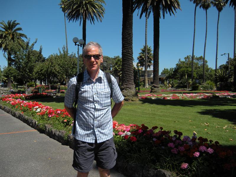 Pete at Napier