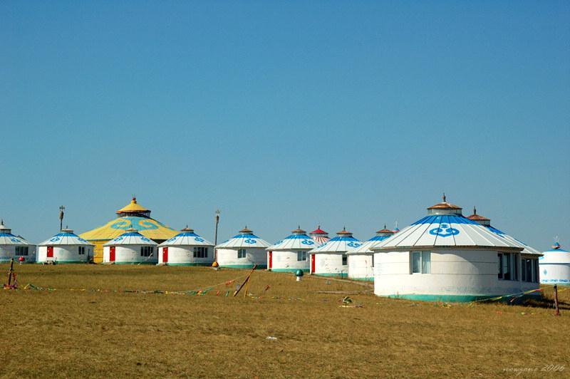 Mongolian Yurts 蒙古包群