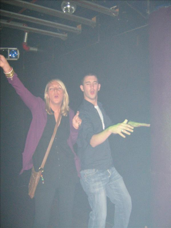 Neil and Kelly in Mars Bar