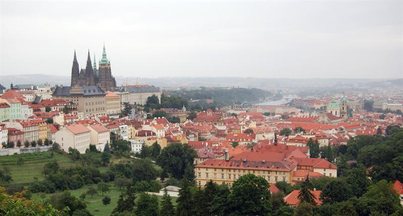 Raining from Monastary - Prague