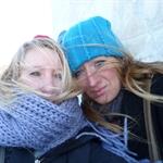 Le jour le plus froid de notre vie ..on ne pleure pas,mais presque ....