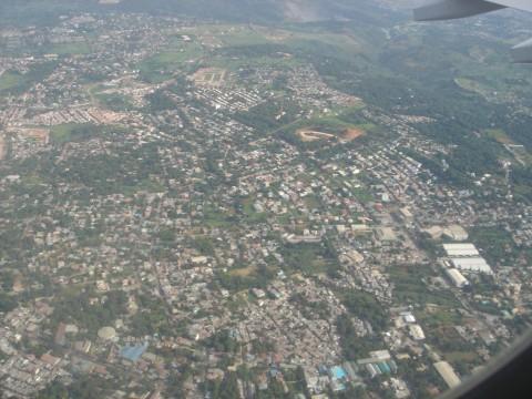 Manila from the sky