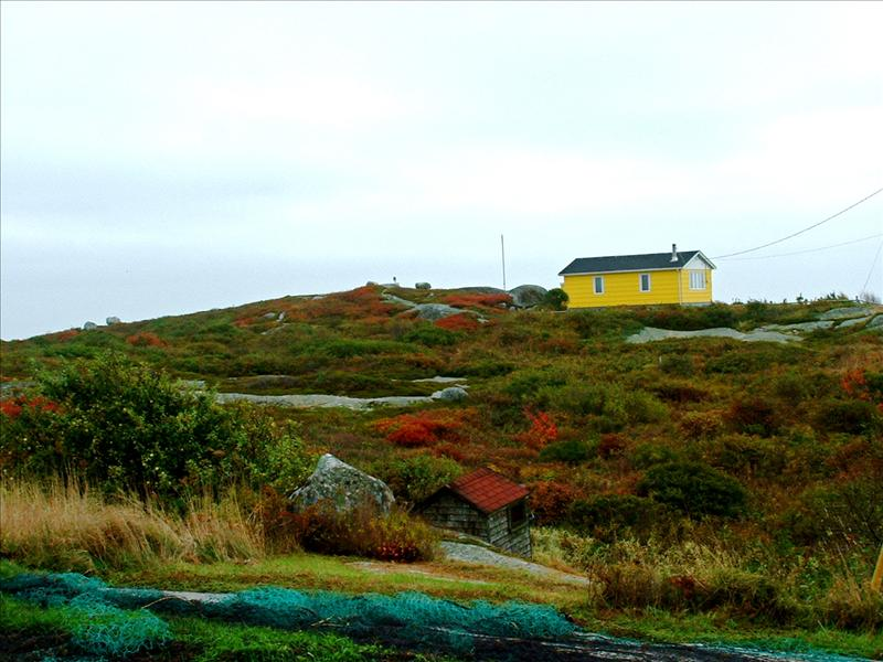 Landscape at Peggy's Cove