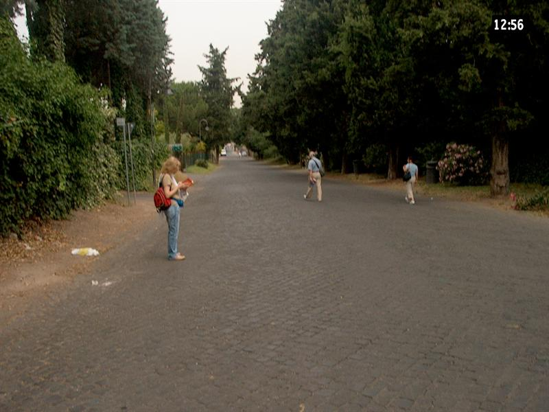 road to Caracalla