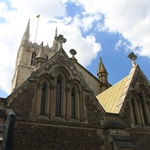Southwark Cathedral, Thames, London, United Kingdom