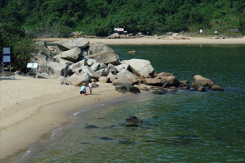 海下灣的東風石 East Wind Rock in Hoi Ha Wan